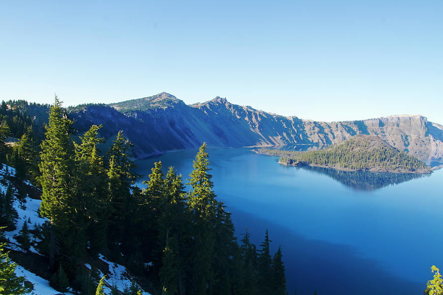 Crater Lake National Park In Oregon, Usa Photograph by Mark Miller Photos