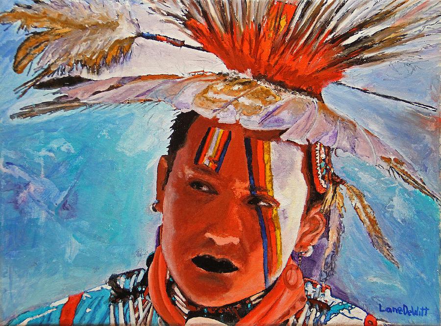 Crow Painting - Crow by Lane DeWitt