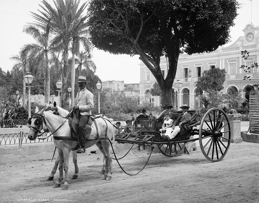 1904 Photograph - Cuba Havana, C1904 by Granger