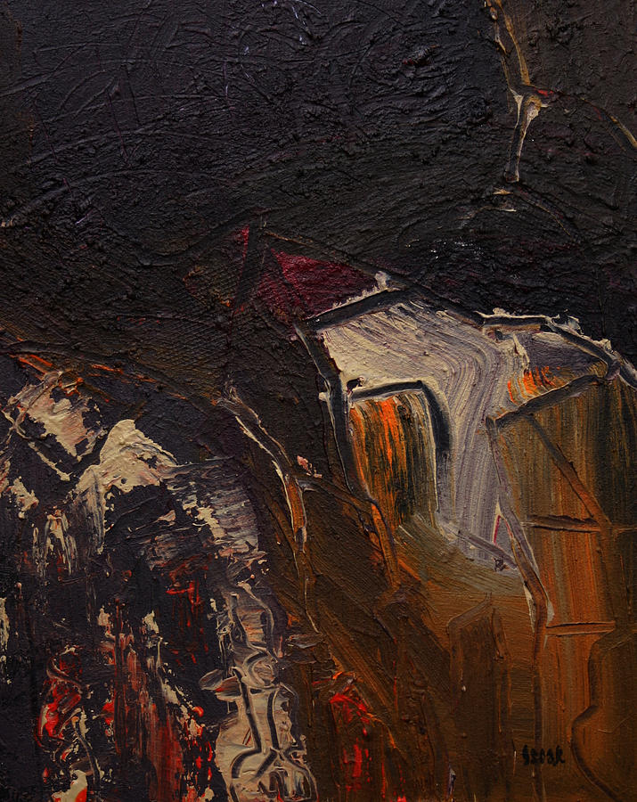 Abstract Painting - Cuenca by Oscar Penalber