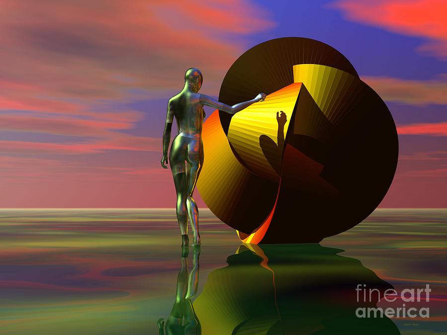 Curiosity Digital Art by Sandra Bauser Digital Art