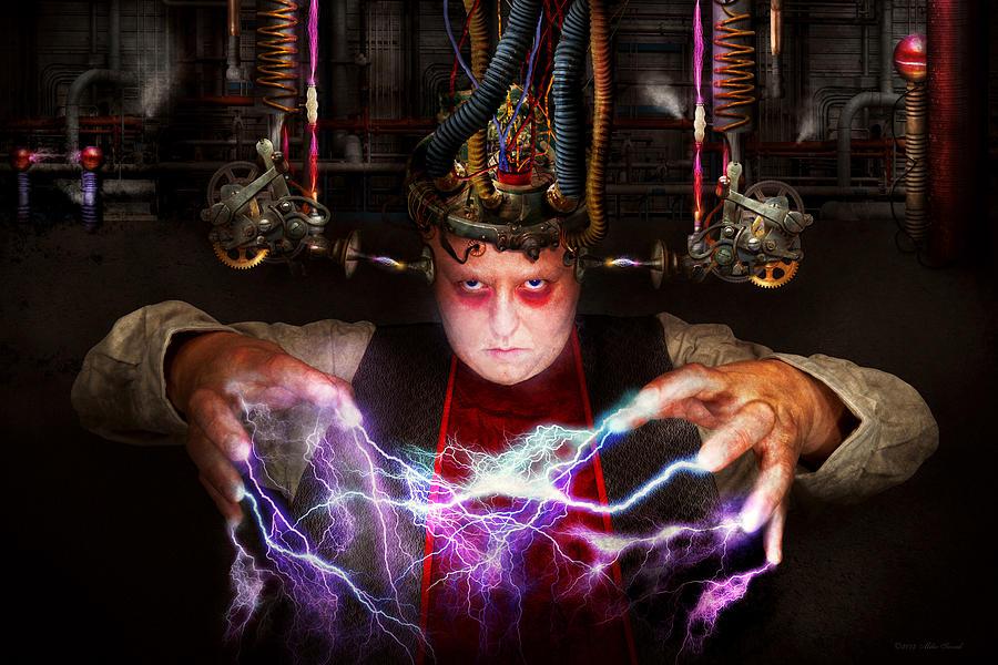 Darkside Photograph - Cyberpunk - Mad Skills by Mike Savad