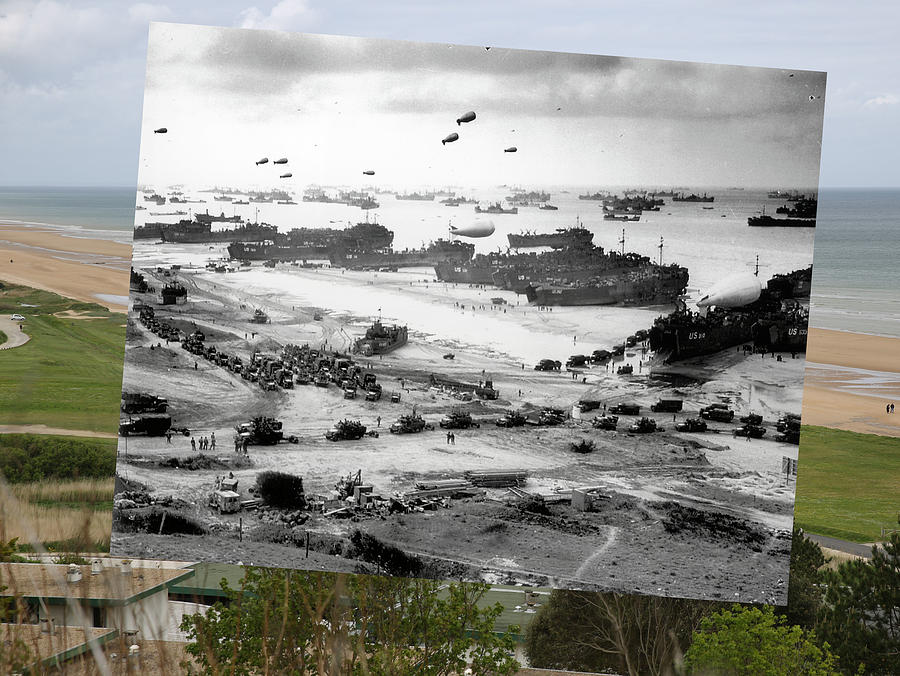 D-Day Remembered Photograph by Peter Macdiarmid