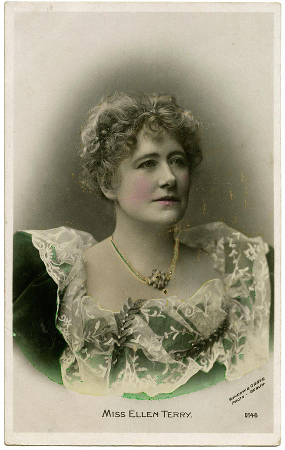 Ellen Photograph - Dame Ellen Alice Terry (1847 - 1928) by Mary Evans Picture Library