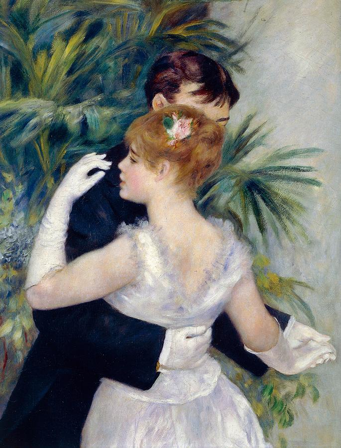 Painting Painting - Dance In The City by Pierre-Auguste Renoir