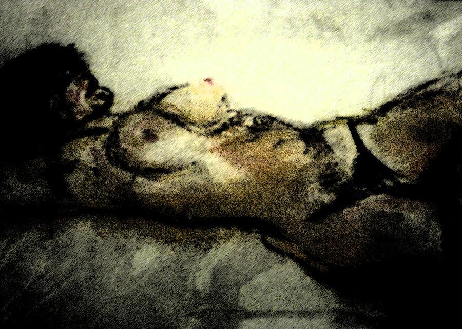 Dark Strokes Digital Art