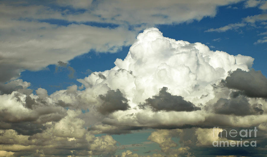 Sky Photograph - Daunting Sky by Jacklyn Duryea Fraizer