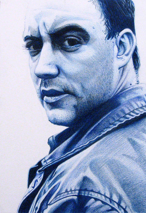 Dave Matthews Drawing - Dave Matthews  by Joshua Morton