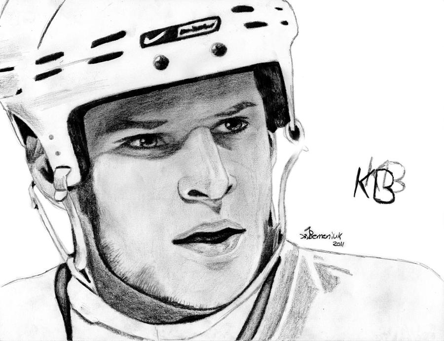 Kevin Drawing - Defence On Offence by Kayleigh Semeniuk