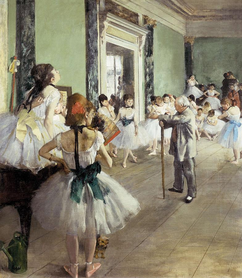 Vertical Photograph - Degas, Edgar 1834-1917. The Dancing by Everett