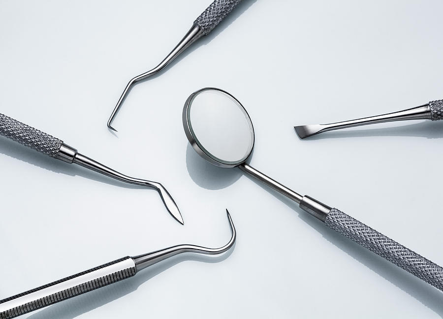 Dental Instruments Photograph by Jorg Greuel