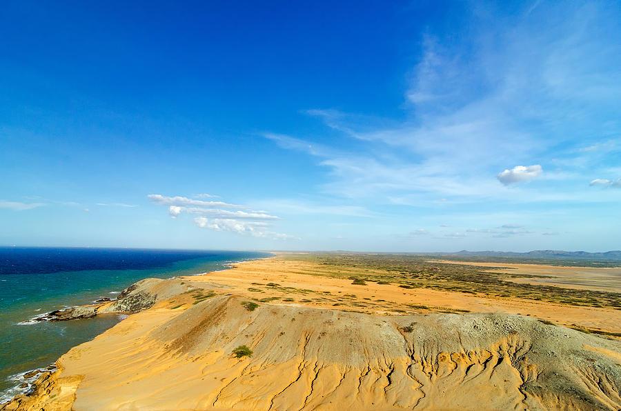 Desert And Sea Photograph