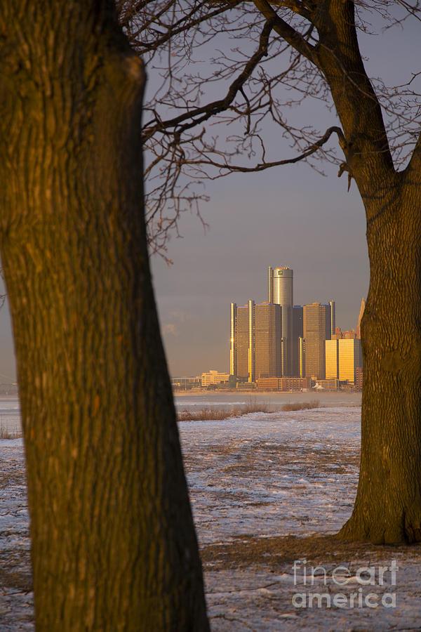 Detroit Photograph - Detroit Winter by Jim West