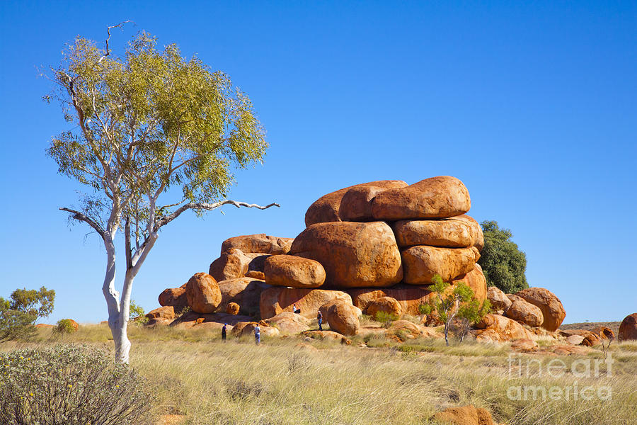 Devils Marbles Northern Territory Australia Photograph