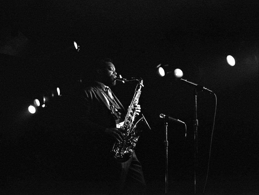 Jazz Photograph - Dewey Redman by Lee Santa