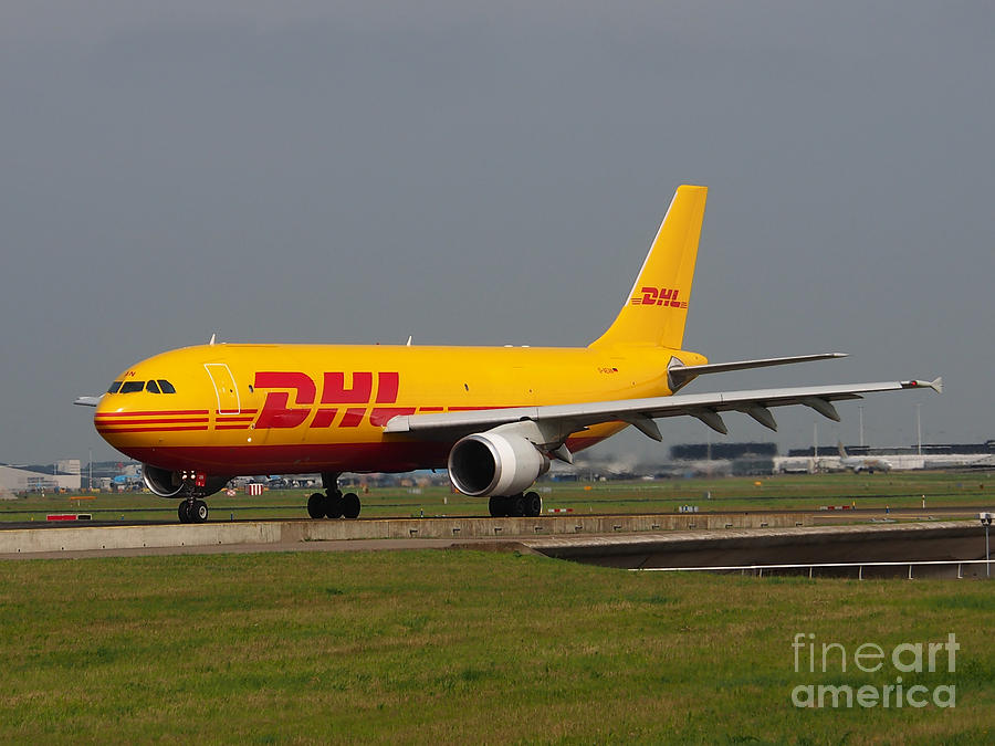Aircraft Photograph - Dhl Airbus A300 by Paul Fearn