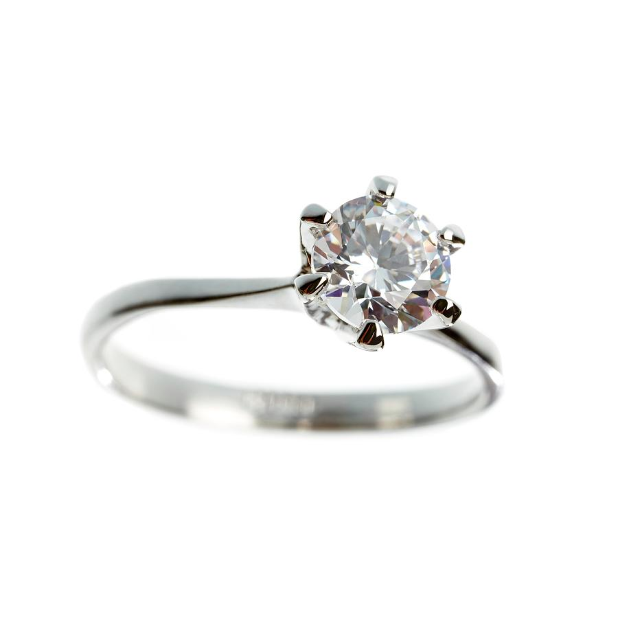 Carbon Photograph - Diamond Ring by Science Photo Library