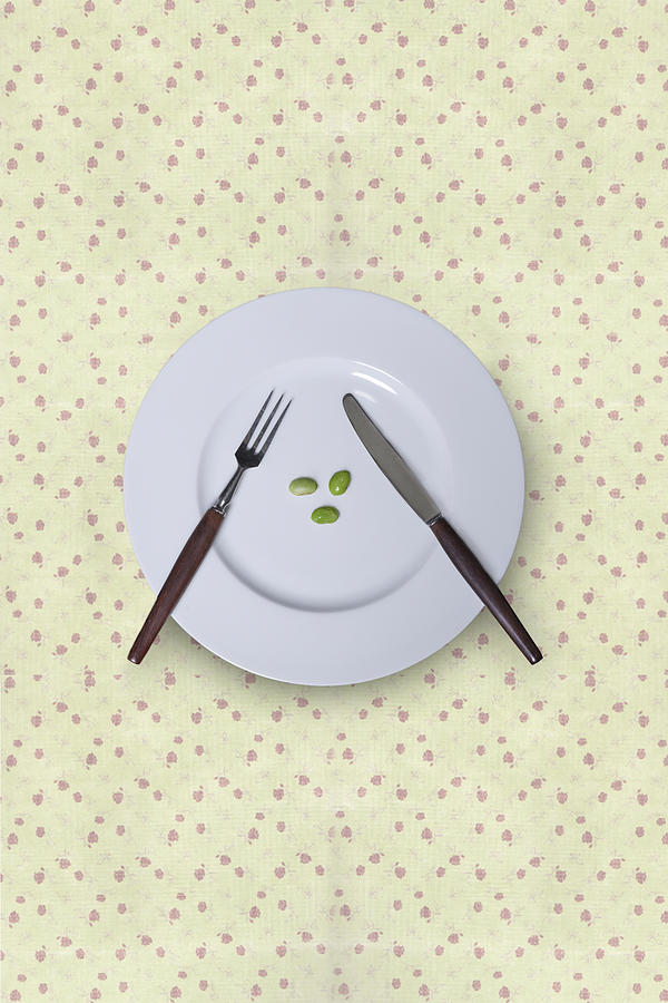 Plate Photograph - Diet by Joana Kruse