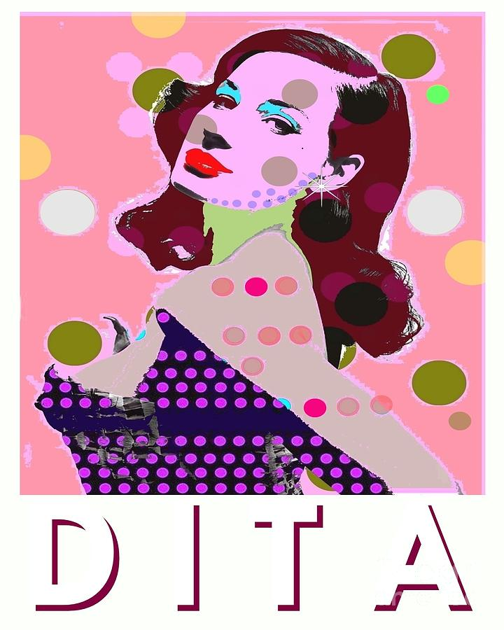 Dita Von Tesse Digital Art - Dita by Ricky Sencion