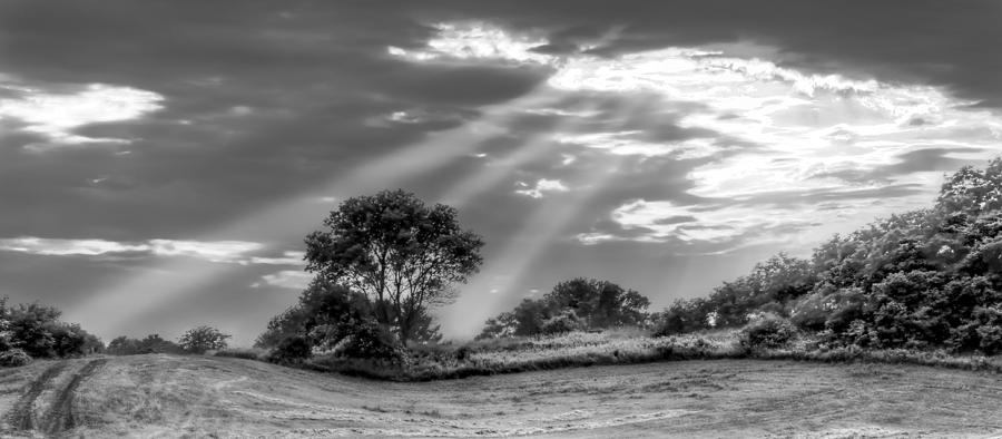 Crepuscular Rays Photograph - Divine Light by Anna-Lee Cappaert