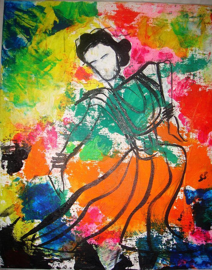 Divine Painting - Divine Swing by Sonali Singh