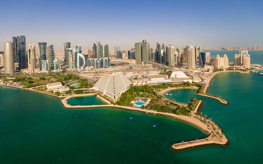 Doha, Qatar Photograph by Midhat Mujkic