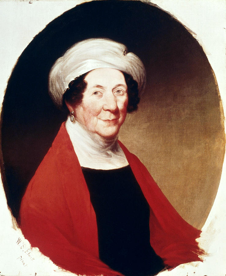 1848 Painting - Dolley Payne Todd Madison (1768-1849) by Granger