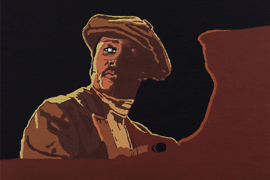 Donny Hathaway Painting - Donny Hathaway by Rachel Natalie Rawlins