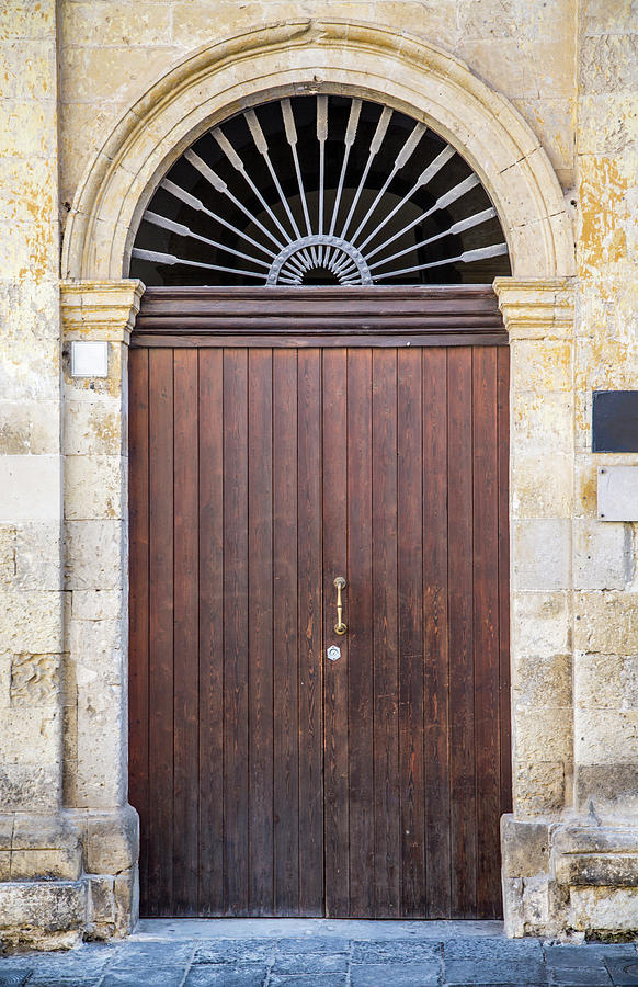 Door From Sicily Photograph by Boggy22