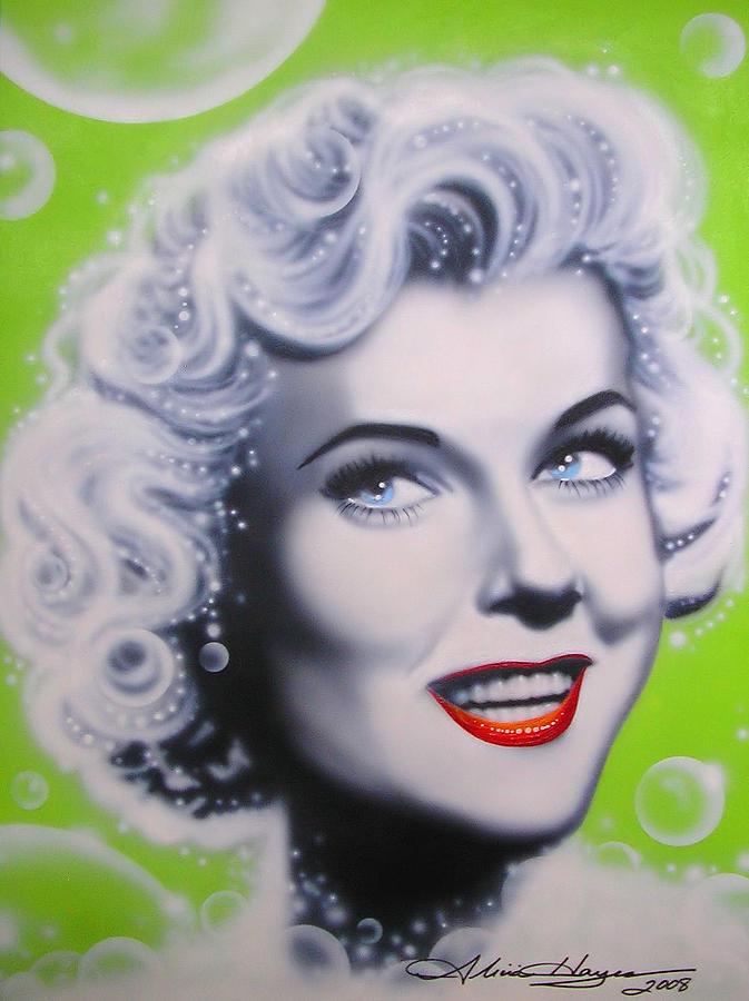 Doris Day Painting - Doris Day by Alicia Hayes