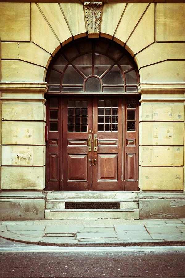 Apartment Photograph - Double Door by Tom Gowanlock