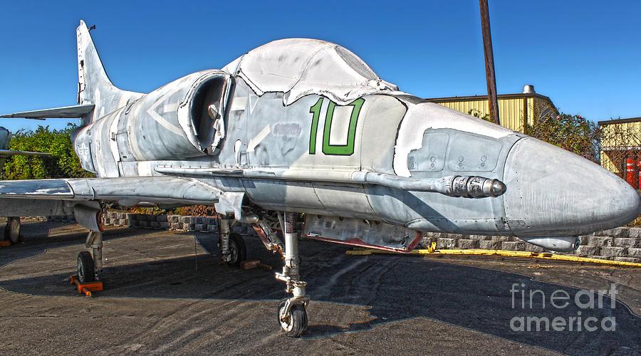 Douglas Skyhawk A-4f Photograph - Douglas Skyhawk A-4f by Gregory Dyer