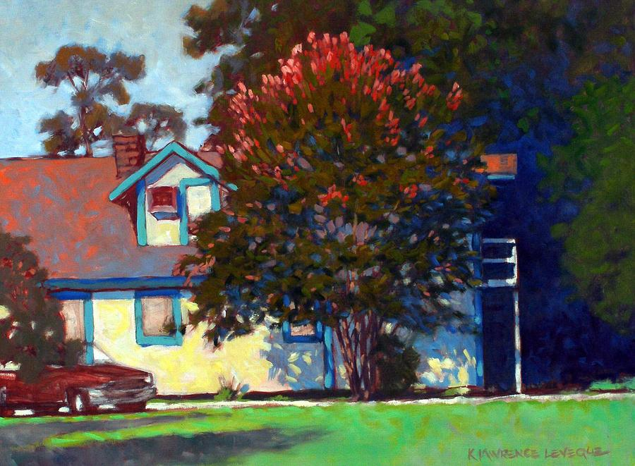 Landscape Painting - Dougs Apartment by Kevin Lawrence Leveque