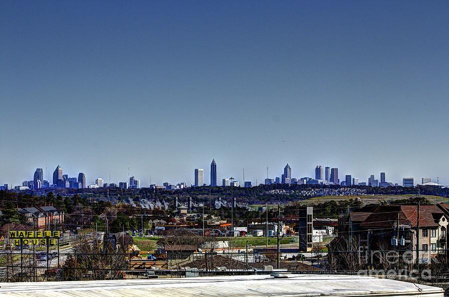 Downtown Atlanta Photograph by Jeffrey Ward