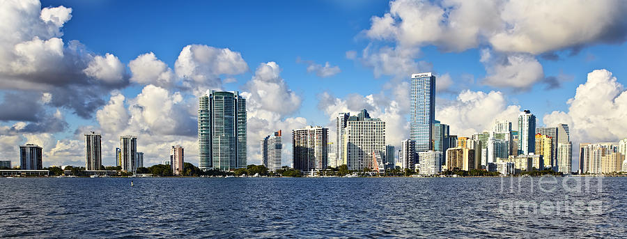 Downtown Miami Photograph - Downtown Miami  by Eyzen M Kim