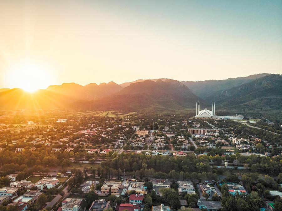 Drone Photo Of Islamabad City, Pakistan by Shan shihan