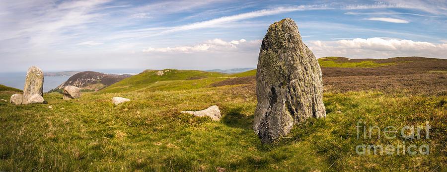 Druid Photograph - Druids Stone Circle by Amanda Elwell