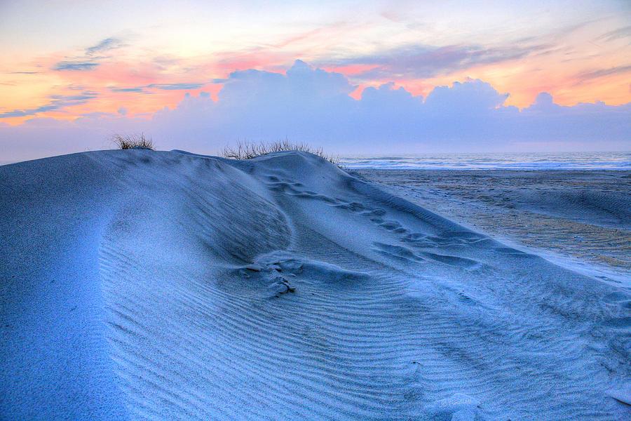 Oak Island Photograph - Dunes by JC Findley