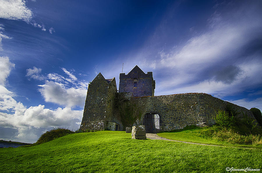 Dunguaire Castle Photograph - Dunguaire Castle Ireland by Giovanni Chianese