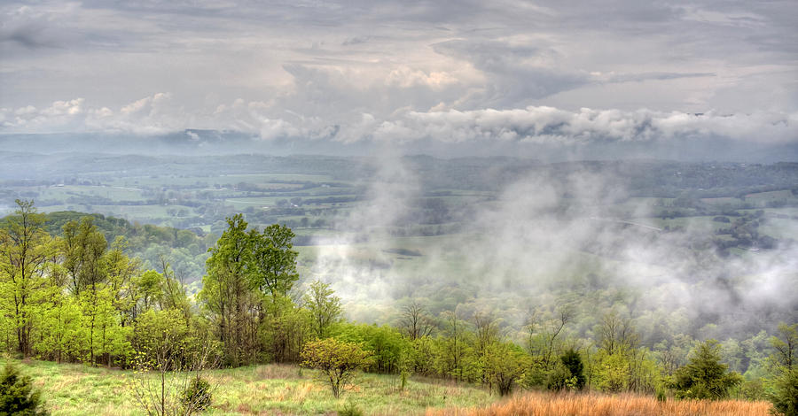 Valley Photograph - Dunlap Valley by David Troxel