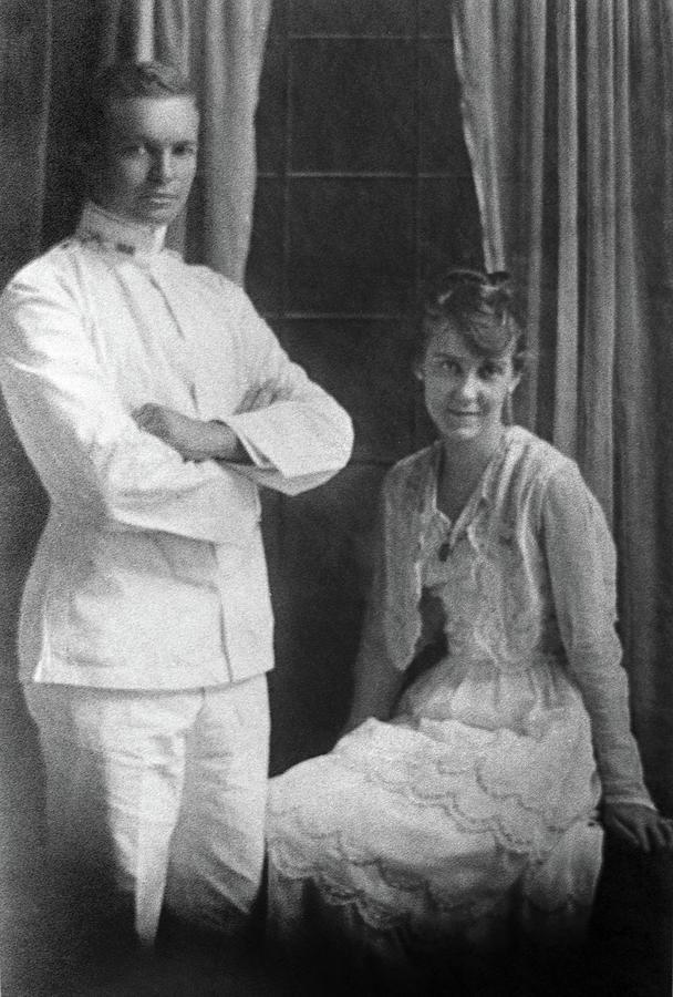 1915 Photograph - Dwight D by Granger