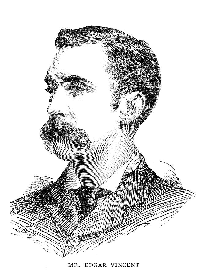 1883 Painting - Edgar Vincent (1857-1941) by Granger