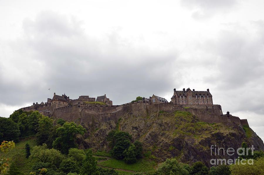 Edinburgh Castle by Scott D Welch