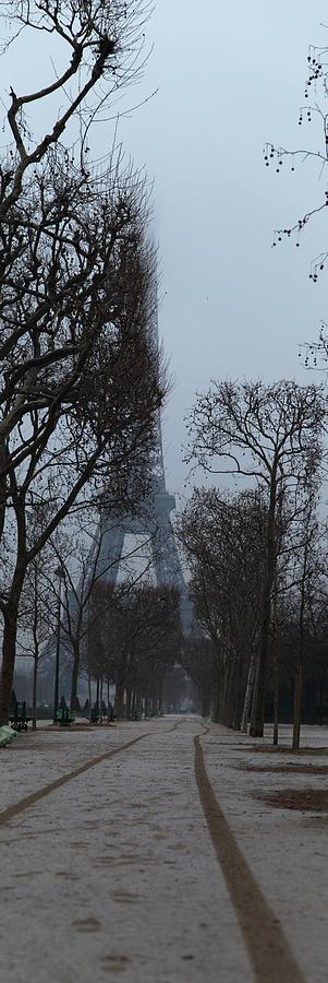 Antique Photograph - Eiffel Tower - Paris France - 011312 by DC Photographer