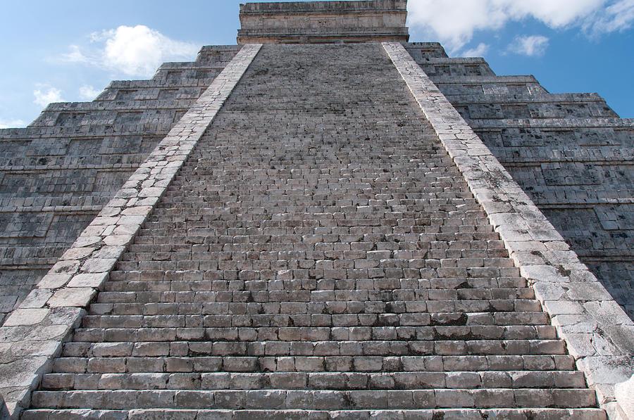 El Castillo At Chichen Itza Digital Art