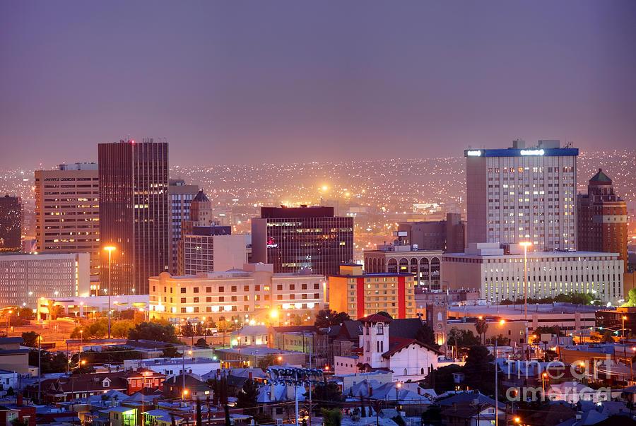 El Paso Photograph - El Paso by Denis Tangney Jr
