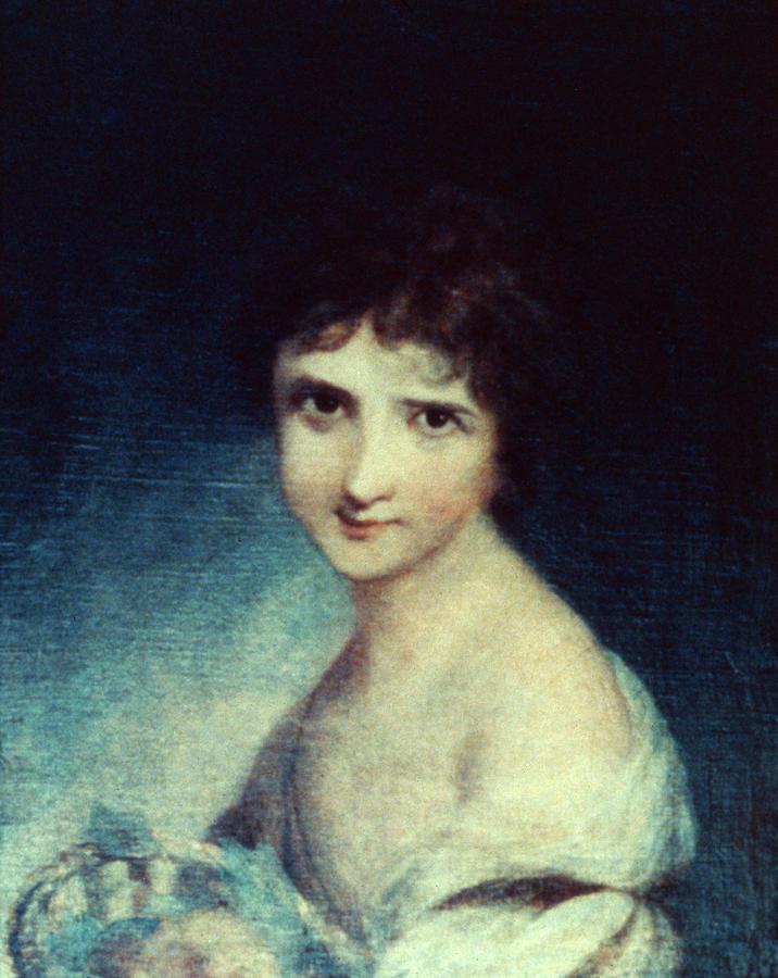 1785 Painting - Eleanor Parke Custis Lewis(1779-1852) by Granger