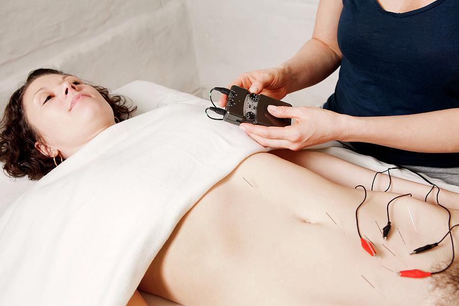 Human Photograph - Electroacupuncture Fertility Treatment by Thomas Fredberg