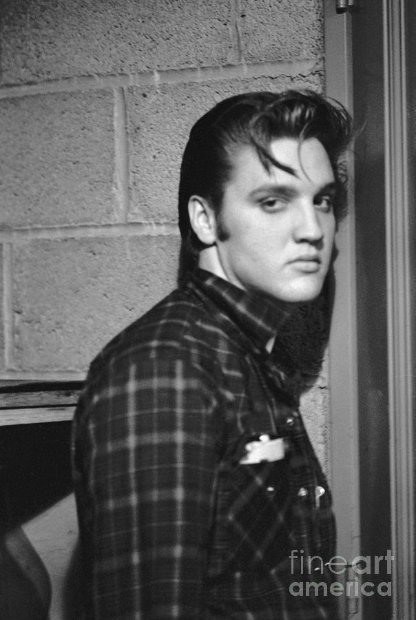 Elvis Presley Photograph - Elvis Presley 1956 by The Harrington Collection