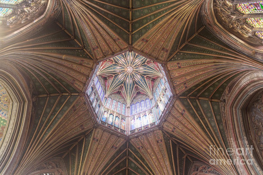 Britain Photograph - Ely Cathedral by Roberto Morgenthaler